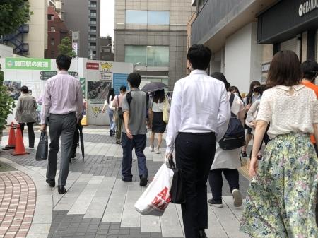(정윤성 기자의 일본 리포트) 도쿄, 전출 인구 갈수록 증가